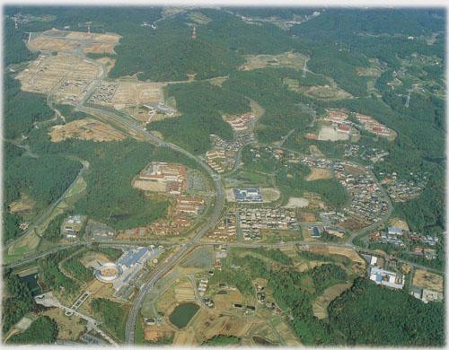 吉備高原都市の空撮写真 □交通アクセス □今後の整備の基本的な方向 吉備高原都市の今後の整備に.